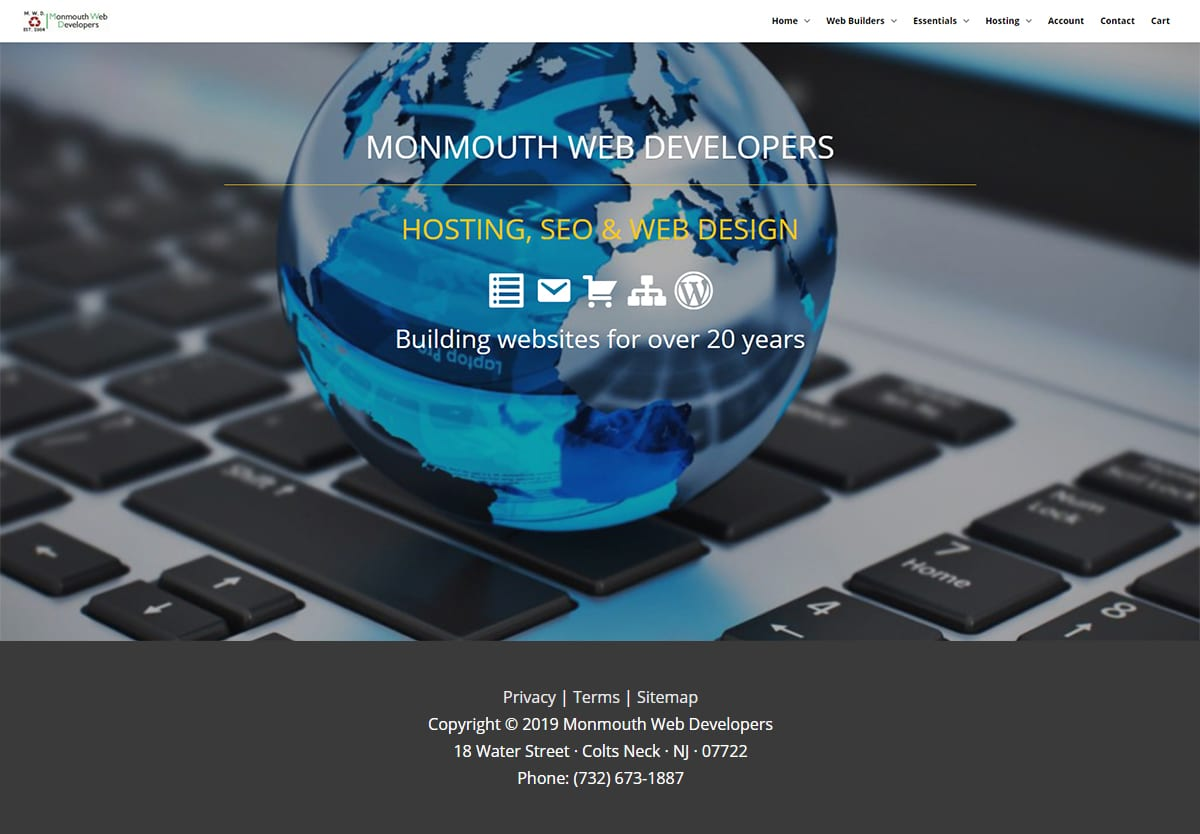 Monmouth Web Developers 2019